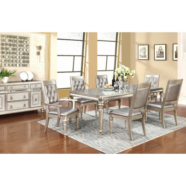 Reviews Dunster 4 Piece Dining Setdarby Home Co Herry Up Regarding Baillie 3 Piece Dining Sets (View 21 of 25)