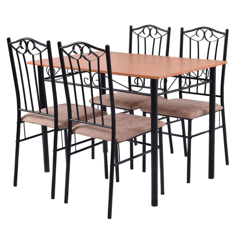 Rossi 5 Piece Dining Set For Rossi 5 Piece Dining Sets (View 4 of 25)