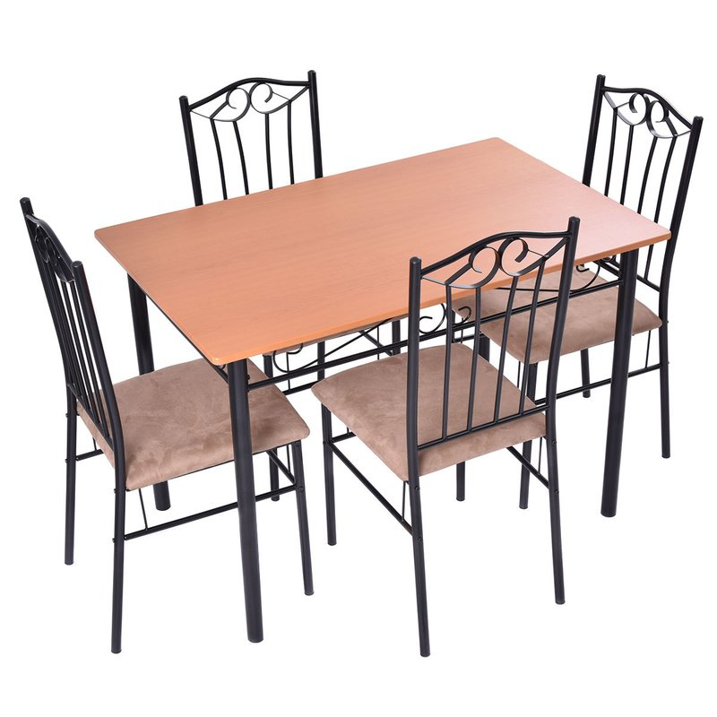 Rossi 5 Piece Dining Set In Rossi 5 Piece Dining Sets (View 7 of 25)