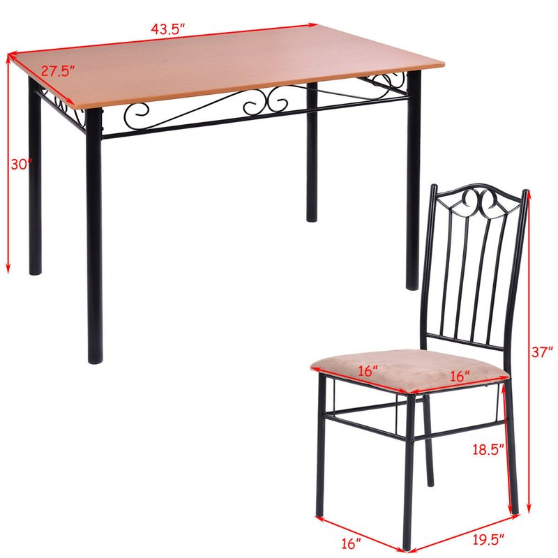 Rossi 5 Piece Dining Set Pertaining To Rossi 5 Piece Dining Sets (View 5 of 25)