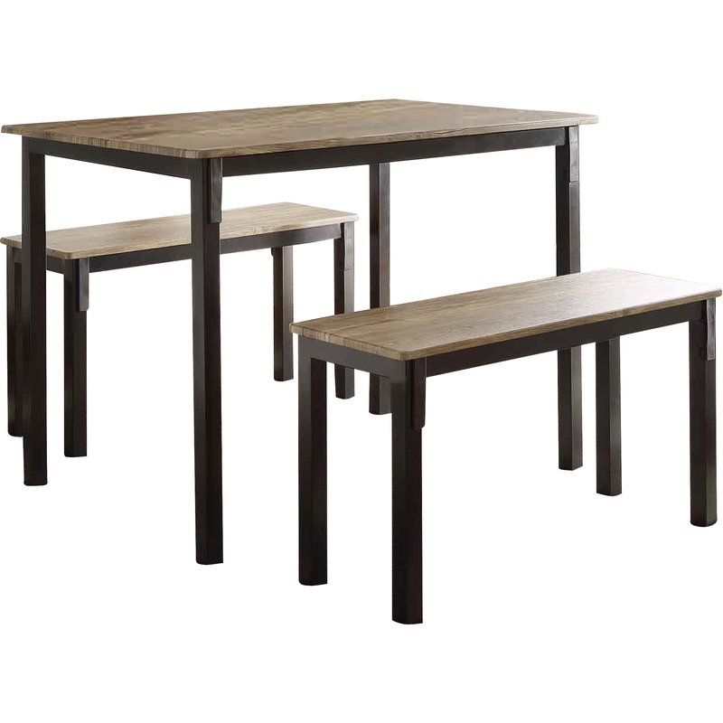Rossiter 3 Piece Dining Set With Regard To Rossiter 3 Piece Dining Sets (Image 20 of 25)