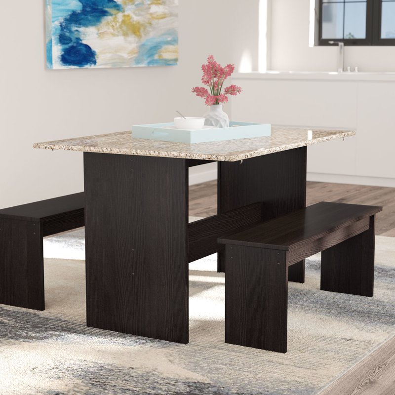 Ryker 3 Piece Dining Set in 3 Piece Dining Sets