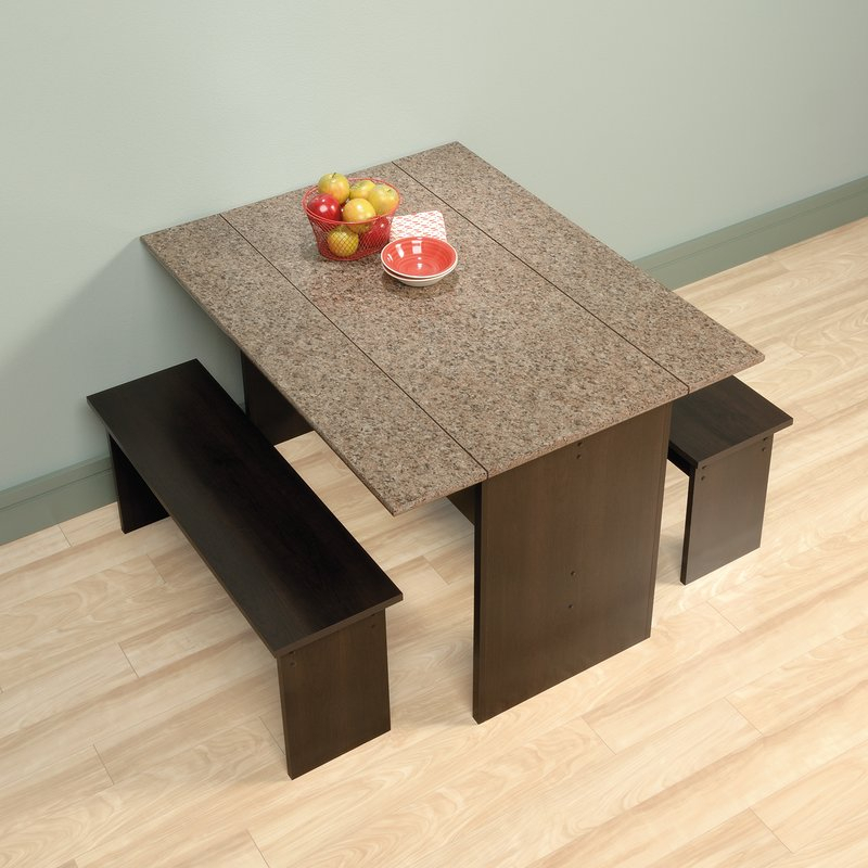 Ryker 3 Piece Dining Set Pertaining To 3 Piece Dining Sets (View 11 of 25)