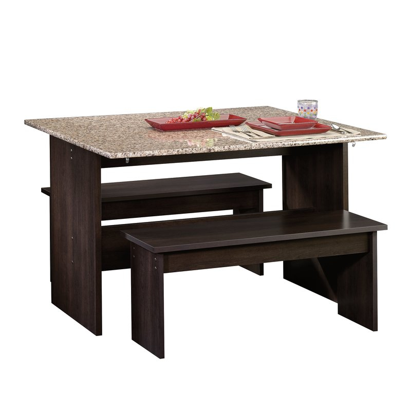 Ryker 3 Piece Dining Set Within Ryker 3 Piece Dining Sets (View 3 of 25)