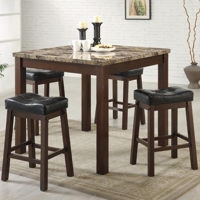 Santa Clara Furniture Store, San Jose Furniture Store, Sunnyvale Throughout Anette 3 Piece Counter Height Dining Sets (Image 19 of 25)