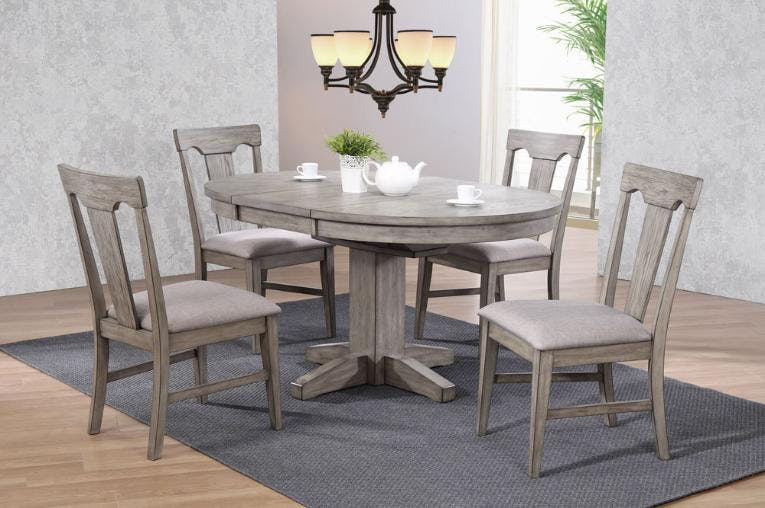 Save On Clearance Items | Sawmill Furniture | East Stroudsburg, 5160 Regarding Amir 5 Piece Solid Wood Dining Sets (Set Of 5) (View 17 of 25)