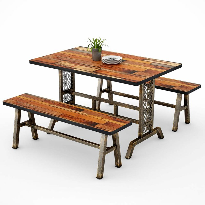 Featured Photo of Shepparton Vintage 3 Piece Dining Sets