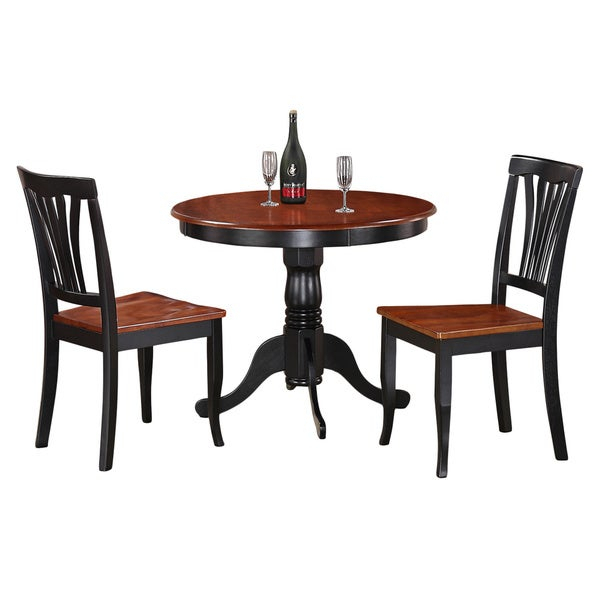Shop 3 Piece Kitchen Nook Dining Set Small Kitchen Table And 2 Within 3 Piece Breakfast Nook Dinning Set (Image 21 of 25)