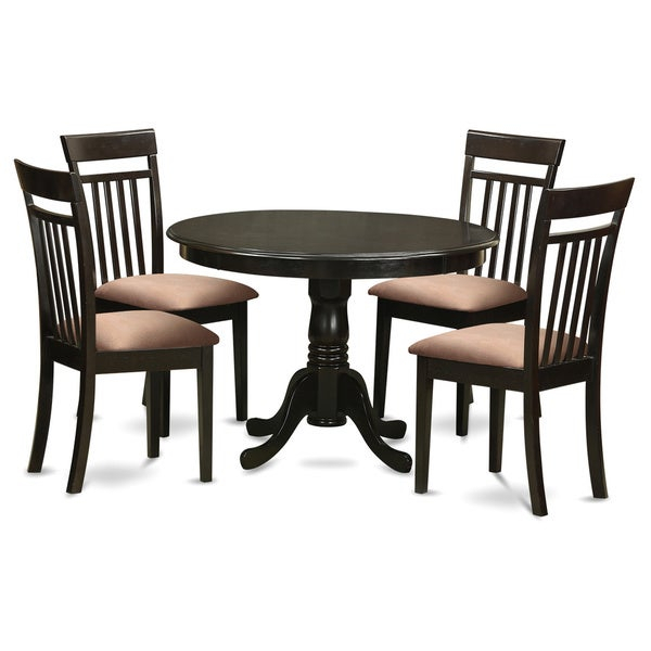 Shop 5 Piece Kitchen Nook Table And 4 Dining Chairs – Free Shipping Intended For 5 Piece Breakfast Nook Dining Sets (Image 23 of 25)
