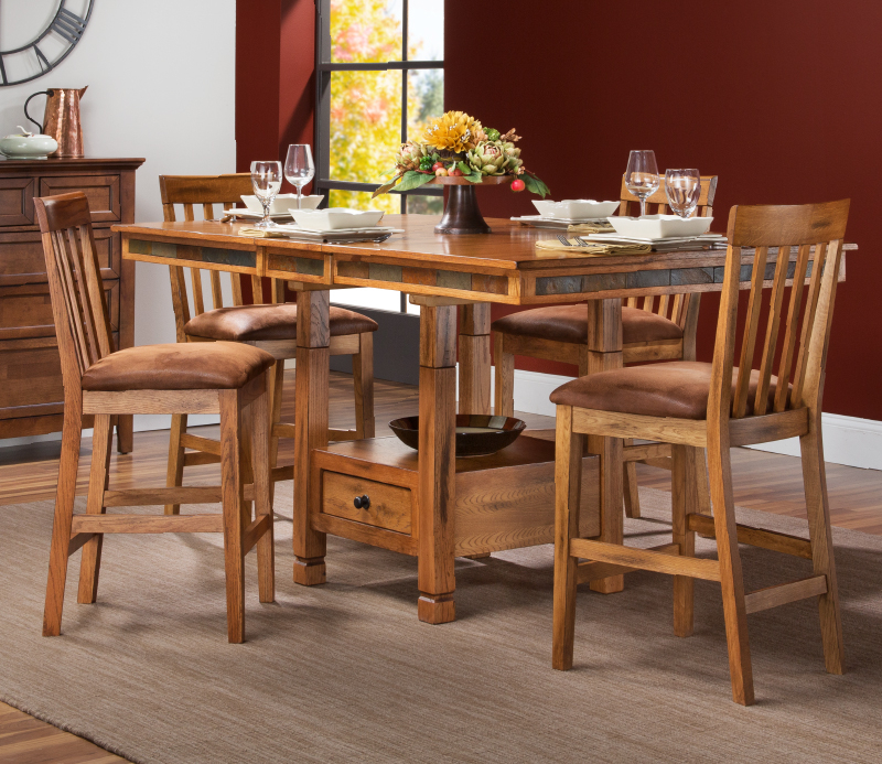 Slumberland Furniture | Dining Within Moorehead 3 Piece Counter Height Dining Sets (Image 25 of 25)