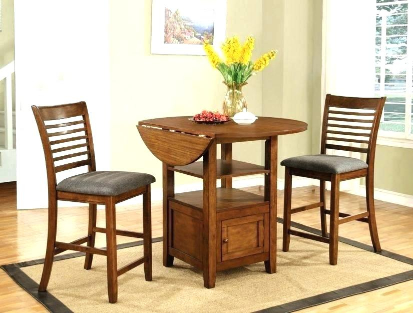 Small 3 Piece Dining Set – Aligner Throughout Debby Small Space 3 Piece Dining Sets (View 4 of 25)