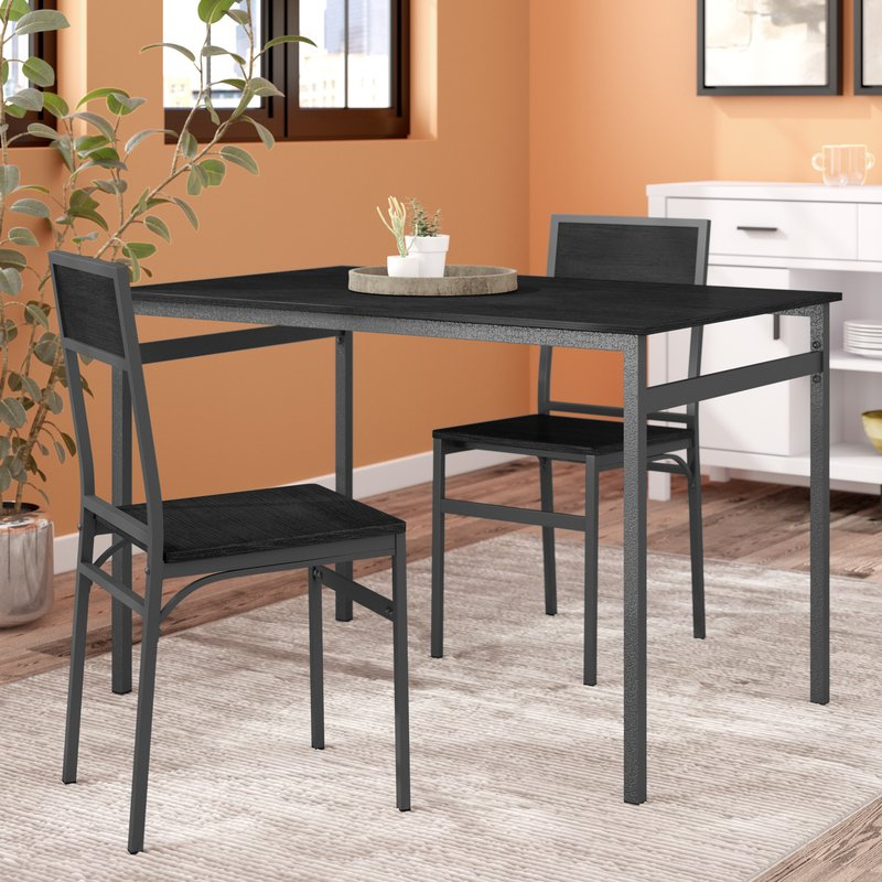 Featured Photo of Springfield 3 Piece Dining Sets
