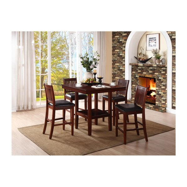 Stephentown 6 Piece Solid Wood Dining Setred Barrel Studio Fresh In Ganya 5 Piece Dining Sets (Image 21 of 25)
