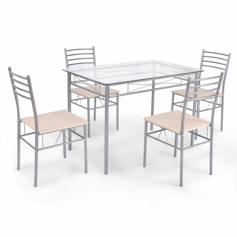 Featured Photo of Stouferberg 5 Piece Dining Sets