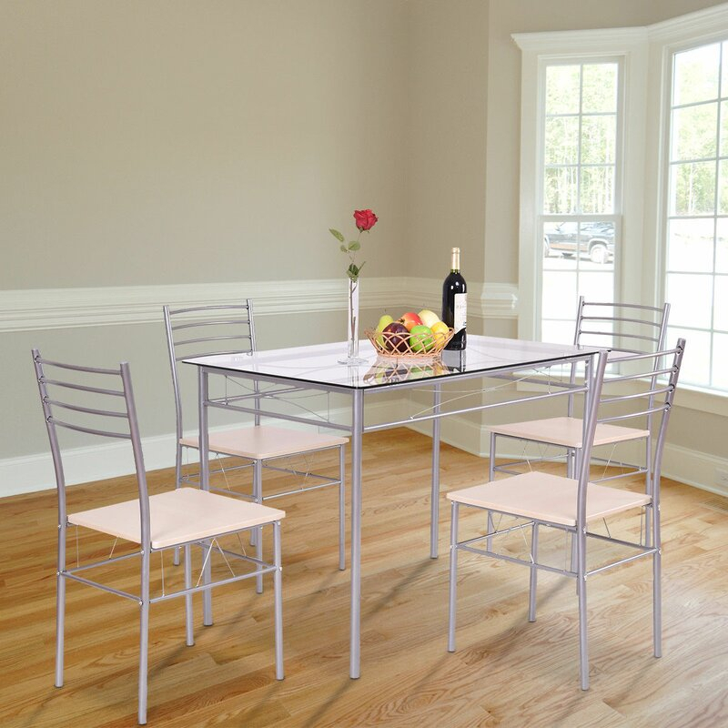 Stouferberg 5 Piece Dining Set With Regard To Stouferberg 5 Piece Dining Sets (View 4 of 25)