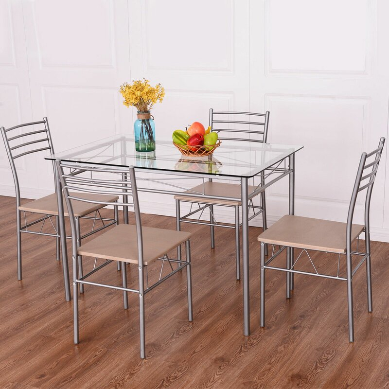 Stouferberg 5 Piece Dining Set With Regard To Stouferberg 5 Piece Dining Sets (View 3 of 25)