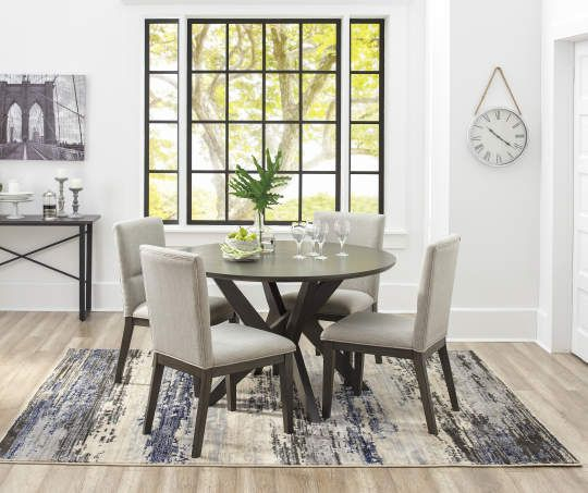 Stratford York 5 Piece Dining Set | Building A Home | Dining Room With Regard To Bryson 5 Piece Dining Sets (View 8 of 25)