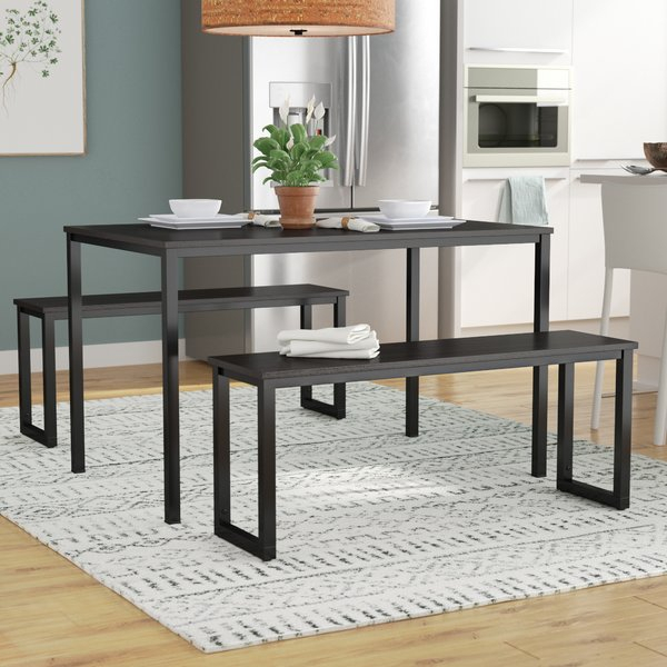 Transitional Dining Table Set | Wayfair Within Linette 5 Piece Dining Table Sets (Image 23 of 25)