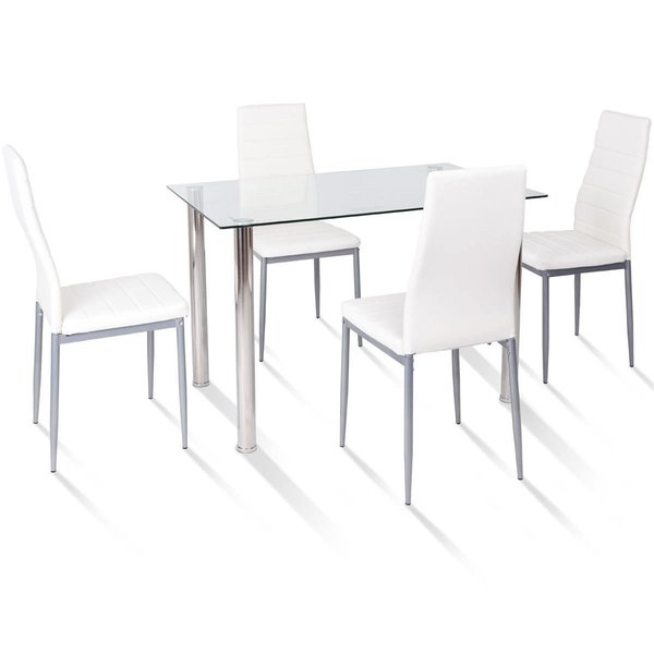 Featured Image of Travon 5 Piece Dining Sets