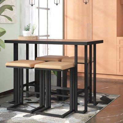 Trent Austin Design Calistoga 5 Piece Counter Height Dining Set For Berrios 3 Piece Counter Height Dining Sets (Image 24 of 25)