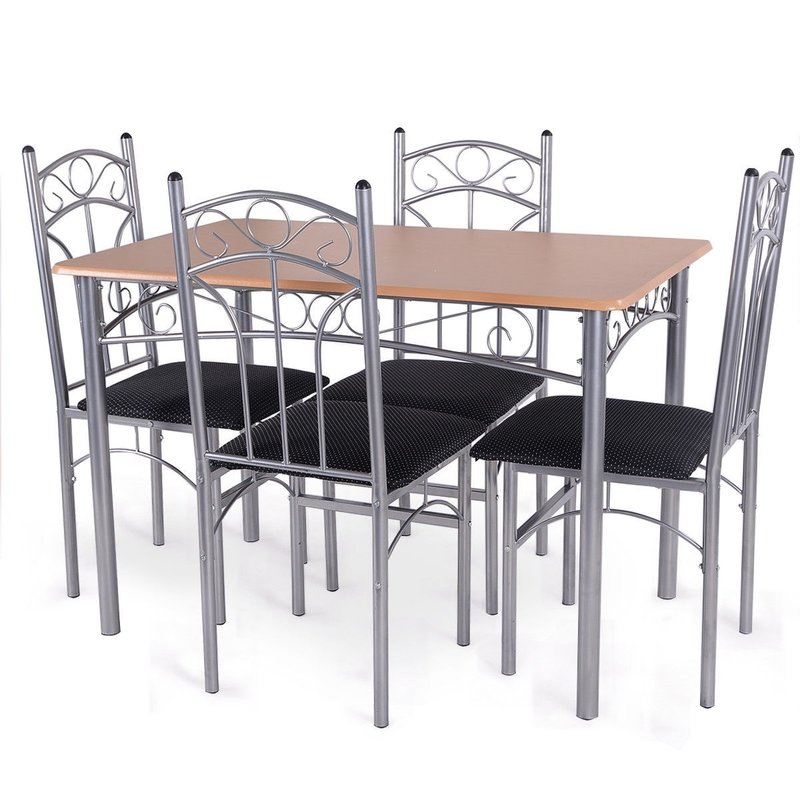Turnalar 5 Piece Dining Set For Turnalar 5 Piece Dining Sets (View 9 of 25)