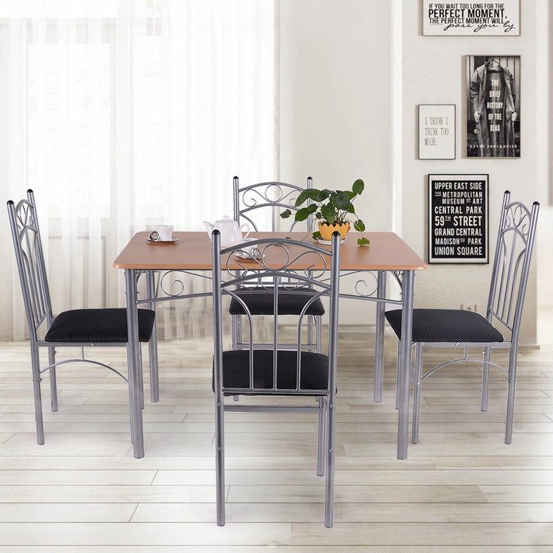 Turnalar 5 Piece Dining Set For Turnalar 5 Piece Dining Sets (View 4 of 25)