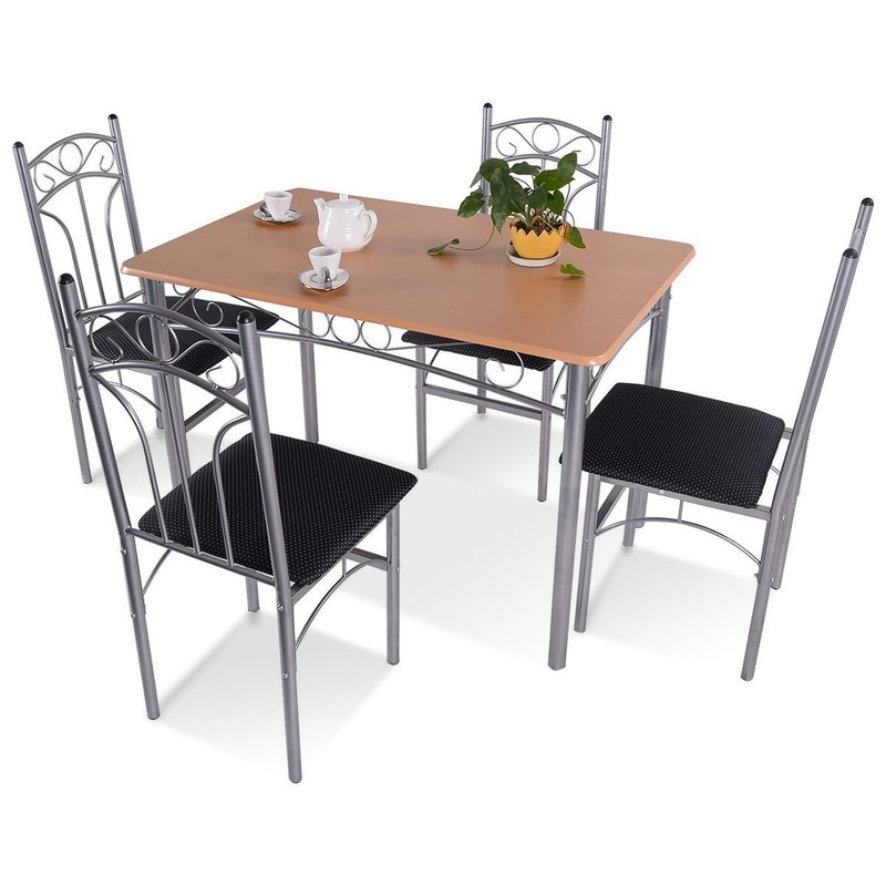 Turnalar 5 Piece Dining Set Within Turnalar 5 Piece Dining Sets (View 2 of 25)