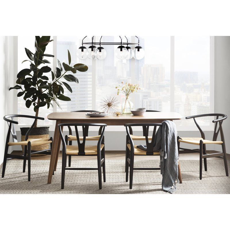 Villa Court Solid Wood Dining Chair In 2019 | Dining Room | Solid in Tarleton 5 Piece Dining Sets