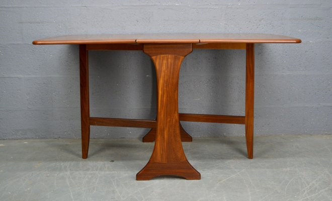 Vintage Drop Leaf Dining Table From G Plan Intended For Bate Red Retro 3 Piece Dining Sets (Photo 25 of 25)