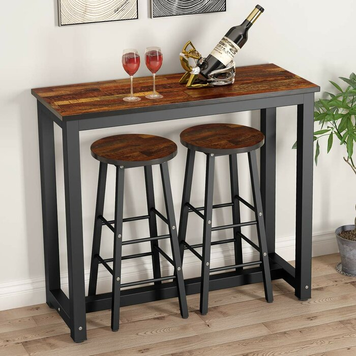 Featured Image of Wallflower 3 Piece Dining Sets