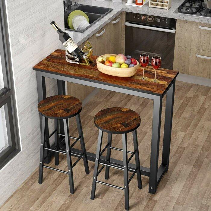 Wallflower 3 Piece Dining Set Regarding Wallflower 3 Piece Dining Sets (Image 25 of 25)