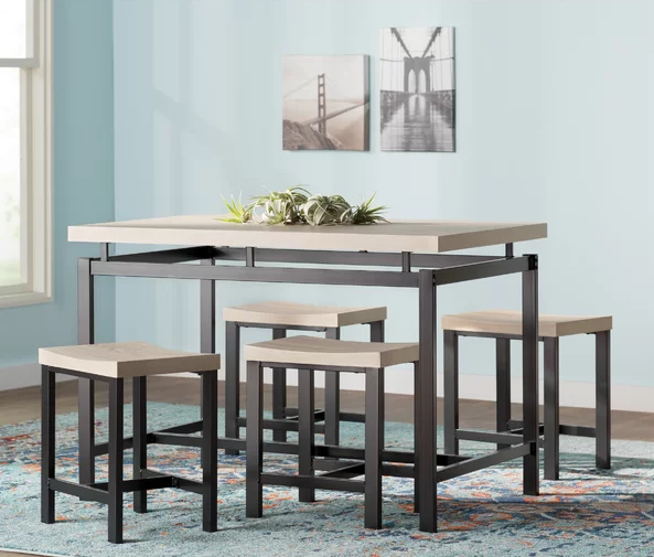 Wayfair Kitchen & Dining Room Sale | Cheap Tables, Dining Sets In Middleport 5 Piece Dining Sets (Image 21 of 25)