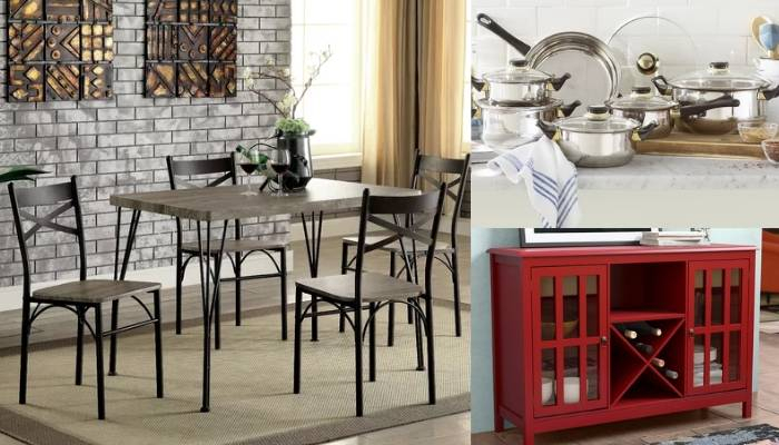 Wayfair Kitchen & Dining Room Sale | Cheap Tables, Dining Sets Intended For Middleport 5 Piece Dining Sets (View 18 of 25)