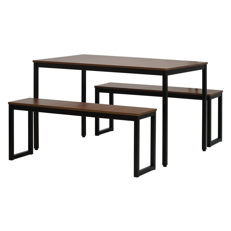 Featured Image of West Hill Family Table 3 Piece Dining Sets