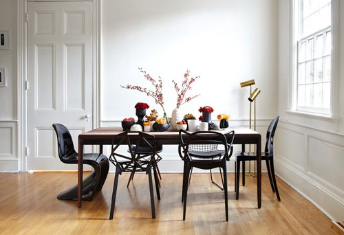 What Do You Think About Mismatched Dining Chairs? Within Emmeline 5 Piece Breakfast Nook Dining Sets (View 20 of 25)