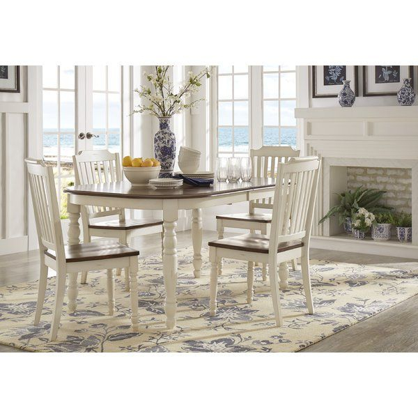 Whiteland 5 Piece Dining Set In 2019 | Home | Dining Room Sets For Lamotte 5 Piece Dining Sets (View 4 of 25)