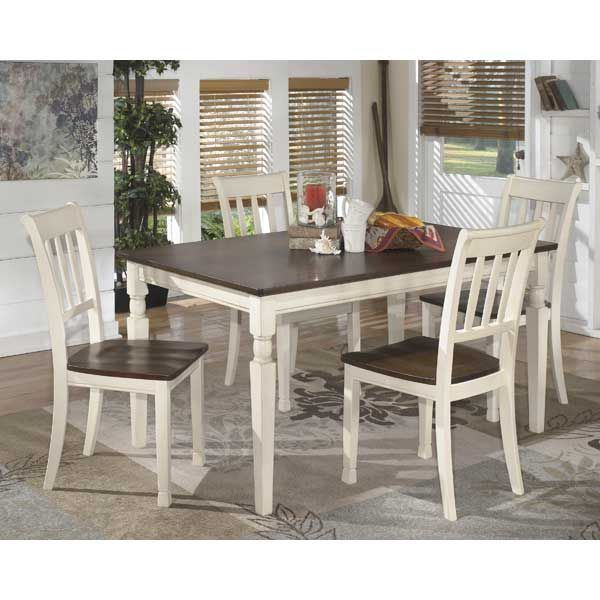 Whitesburg 5 Piece Dining Set Regarding 5 Piece Dining Sets (View 14 of 25)