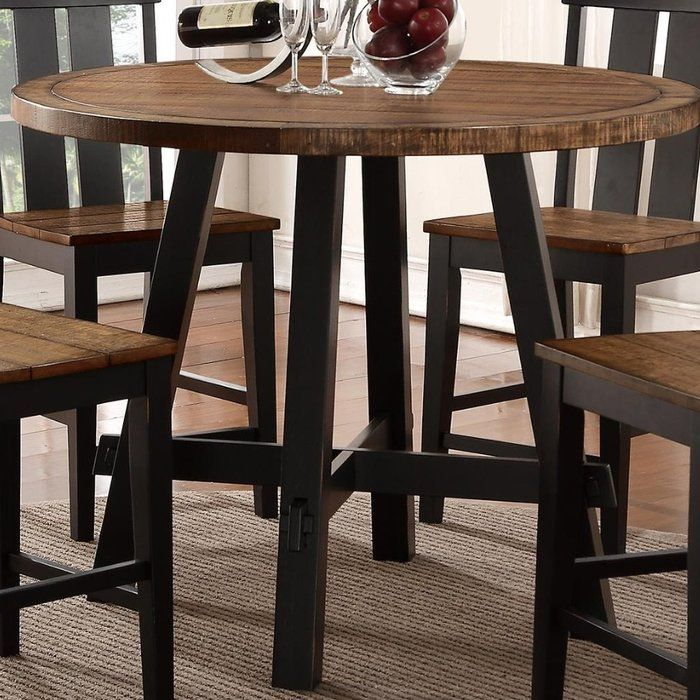 Wick St Lawrence Pub Table In 2019 | House | Table, Dining Table In Pertaining To Kerley 4 Piece Dining Sets (View 18 of 25)