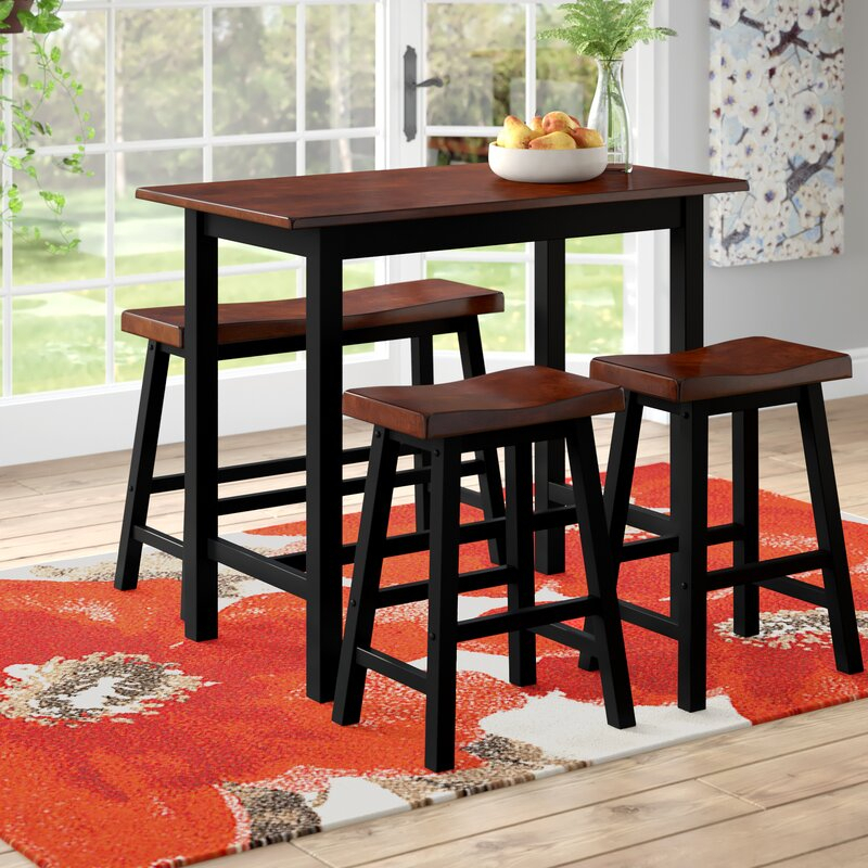 Winsted 4 Piece Counter Height Dining Set Throughout Winsted 4 Piece Counter Height Dining Sets (Image 24 of 25)