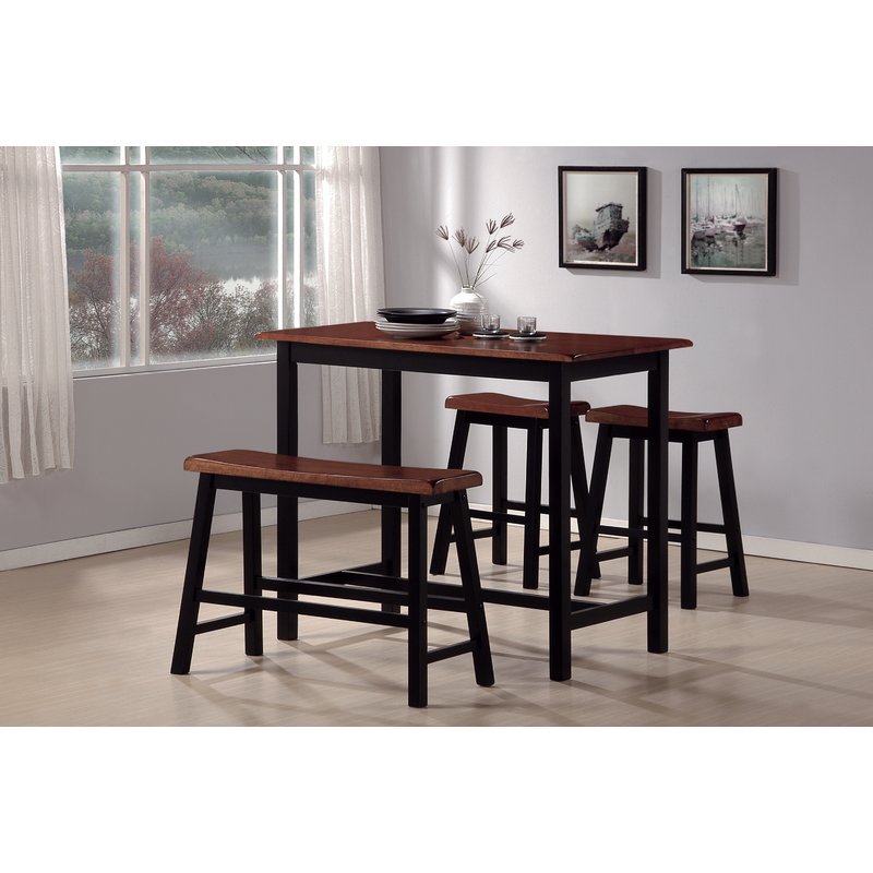 Winsted 4 Piece Counter Height Dining Set With Winsted 4 Piece Counter Height Dining Sets (Image 25 of 25)