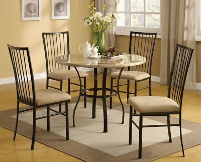 Winston Porter Orchard Street 5 Piece Dining Set Inside Miskell 5 Piece Dining Sets (View 18 of 25)