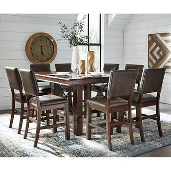 Woodbridge 9 Piece Dining Set | Dining Set | Dining, Dining Set For Noyes 5 Piece Dining Sets (View 24 of 25)