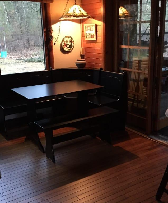 3 Piece Breakfast Nook Dining Set – Walmart – Walmart With Crownover 3 Piece Bar Table Sets (View 25 of 25)