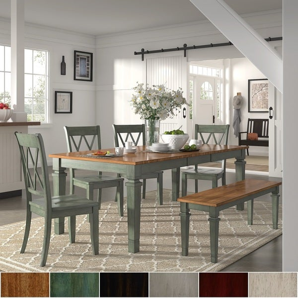 Buy 6 Piece Sets Kitchen & Dining Room Sets Online At Intended For Osterman 6 Piece Extendable Dining Sets (Set Of 6) (View 23 of 25)