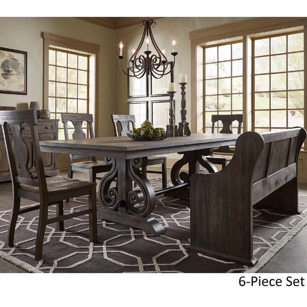Buy 6 Piece Sets Kitchen & Dining Room Sets Online At Intended For Osterman 6 Piece Extendable Dining Sets (Set Of 6) (View 8 of 25)