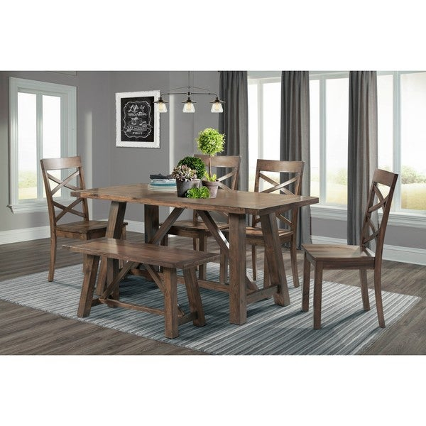 Buy 6 Piece Sets Kitchen & Dining Room Sets Online At Pertaining To Osterman 6 Piece Extendable Dining Sets (Set Of 6) (View 3 of 25)