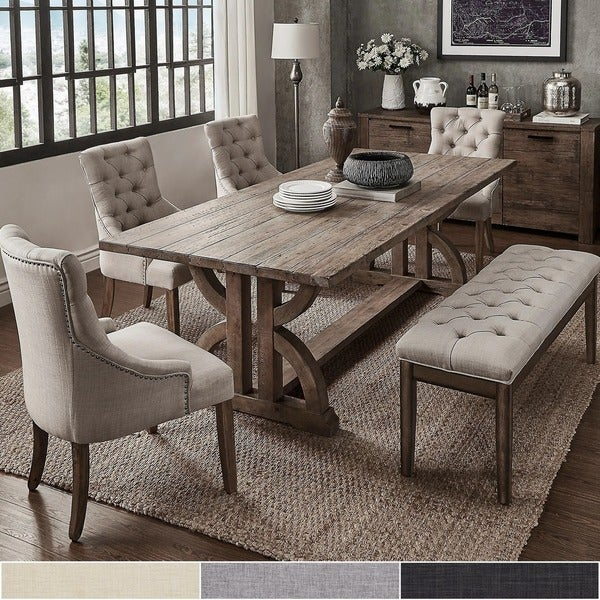 Buy 6 Piece Sets Kitchen & Dining Room Sets Online At Regarding Osterman 6 Piece Extendable Dining Sets (Set Of 6) (View 6 of 25)