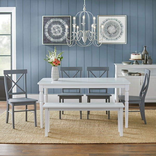 Buy 6 Piece Sets Kitchen & Dining Room Sets Online At Within Osterman 6 Piece Extendable Dining Sets (Set Of 6) (View 16 of 25)