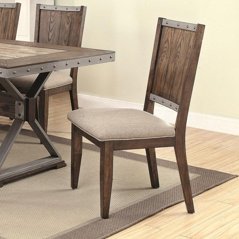 Coaster Furniture Beckett Side Chair – Set Of 2 – Coa3652 1 Inside Osterman 6 Piece Extendable Dining Sets (Set Of 6) (View 9 of 25)
