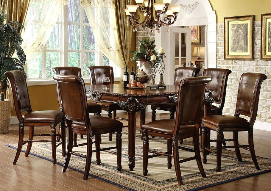 Counter Height Kitchen Table Sets With Storage Dining Set Within Winsome 3 Piece Counter Height Dining Sets (View 25 of 25)